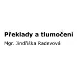RADEVOVÁ JINDŘIŠKA- překlady – logo společnosti