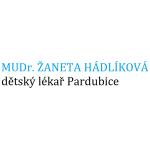 MUDr. ŽANETA HÁDLÍKOVÁ - dětský lékař Pardubice – logo společnosti