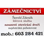 Zdeněk Šerebl - zámečnictví – logo společnosti