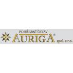 Pohřební ústav AURIGA spol. s r.o. - Obřadní síň – logo společnosti