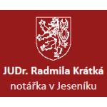Krátká Radmila - notářka – logo společnosti