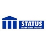 STATUS stavební a.s. (pobočka Pacov) – logo společnosti