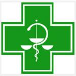 LÉKÁRNA U ČERVENÉHO KOSTELA – logo společnosti