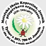 Mateřská škola Kopretina Jeseník, příspěvková organizace (pobočka Jeseník, Dittersdorfova) – logo společnosti