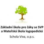 Základní škola pro žáky se specifickými poruchami učení a mateřská škola logopedická Schola Viva, o.p.s. – logo společnosti