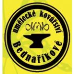 Bednařík Michal - Umělecké kovářství – logo společnosti