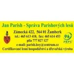 Parish Jan - Správa Parishových lesů – logo společnosti