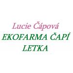 Lucie Čápová- EKOFARMA ČAPÍ LETKA – logo společnosti