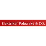 Poborský Martin- ELEKTRIKÁŘI - Poborský & Co – logo společnosti