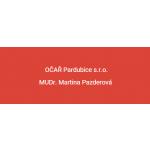 MUDr. Martina Pazderová - OČAŘ Pardubice s.r.o. – logo společnosti