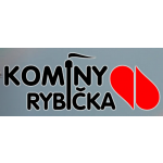 Petr Rybička - komíny – logo společnosti