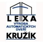 Výroba automatických dveří LEXA & KRUŽÍK, spol. s r.o. – logo společnosti