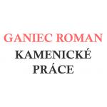 GANIEC ROMAN-KAMENICKÉ PRÁCE – logo společnosti