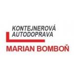 Bomboň Marian – logo společnosti