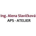 Ing. Alena Slavíčková, APS - ATELIER – logo společnosti