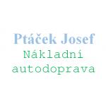 Ptáček Josef - NÁKLADNÍ AUTODOPRAVA – logo společnosti