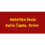 Mateřská škola, Karla Čapka 12a, Krnov, okres Bruntál, příspěvková organizace – logo společnosti