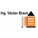 Ing. Václav Braun- PROJEKCE, ARCHITEKTURA – logo společnosti