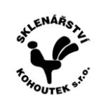 SKLENÁŘSTVÍ KOHOUTEK s.r.o. – logo společnosti