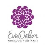 Šťástková Eva- EvaDekor obchod s květinami – logo společnosti