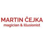 Čejka Martin - kouzelník – logo společnosti