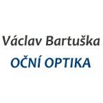 Bartuška Václav- oční optika – logo společnosti