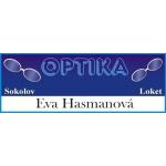 Hasmanová Eva- Oční optika – logo společnosti