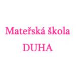 Mateřská škola DUHA, Na Potoku 369, Zubří, okres Vsetín – logo společnosti