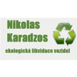 Karadzos Nikolas - ekologická likvidace vozidel – logo společnosti