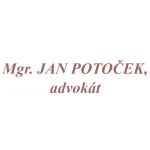 Mgr. JAN POTOČEK, advokát – logo společnosti