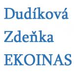 Dudíková Zdeňka- EKOINAS – logo společnosti