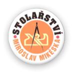 Mikéska Miroslav- zakázkové truhlářství – logo společnosti