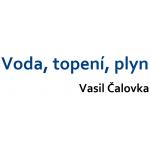 Voda, topení, plyn Vasil Čalovka – logo společnosti