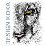 Kotek Karel- DESIGN KOKA – logo společnosti