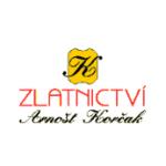 Zlatnictví Arnošt Korčak – logo společnosti