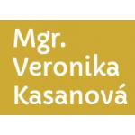 Mgr. VERONIKA KASANOVÁ, advokátka – logo společnosti