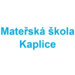 Mateřská škola Kaplice, 1.máje 771 – logo společnosti