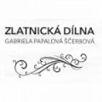 Gabriela Papalová Ščerbová- zlatnická dílna – logo společnosti