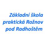 Základní škola praktická Rožnov pod Radhoštěm – logo společnosti