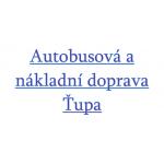 Autobusová a nákladní doprava ŤUPA – logo společnosti