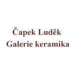 Čapek Luděk- Galerie keramika – logo společnosti