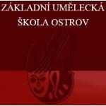 Základní umělecká škola Ostrov, Masarykova 717, okres Karlovy Vary (Sokolov) – logo společnosti