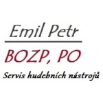 Emil Petr - opr.hud.nástrojů, servis bez.pr. a pož.ochr. – logo společnosti