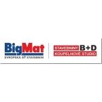 STAVEBNINY B + D – logo společnosti