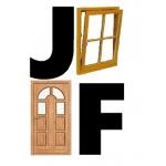 Faktor Jaroslav - prodej oken a dveří – logo společnosti
