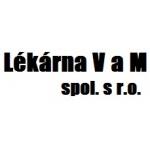 Lékárna V a M, spol. s r.o. – logo společnosti