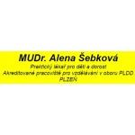 MUDr. Alena Šebková - praktický lékař pro děti a dorost (Rokycany) – logo společnosti