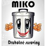 Miková Jana- Sběrné suroviny MIKO – logo společnosti