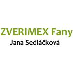 Sedláčková Jana - Zverimex Fany – logo společnosti