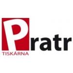 Tiskárna PRATR, a.s. – logo společnosti